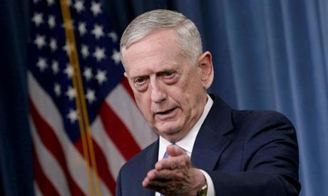 U.S. Defense Secretary James Mattis (Reuters)