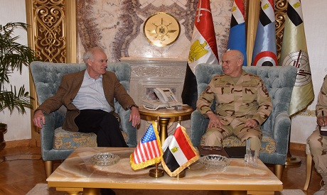 Egypt's army chief-of-staff discusses cooperation with US