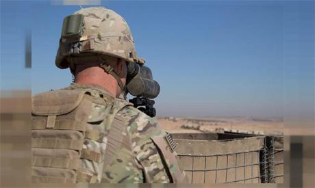 US Soldiers in Manbij