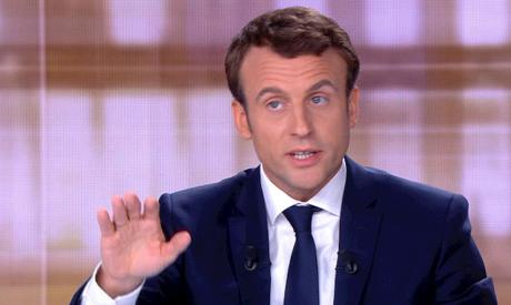 Macron-AFP