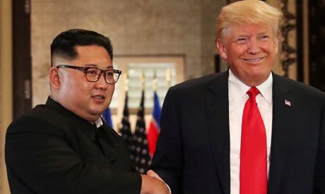 Kim , Trump