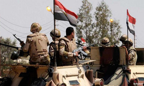 File Photo: Egyptian troops in Sinai (Photo: Reuters)