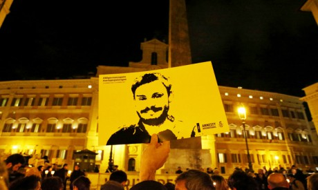 Commemoration of Giulio Regeni
