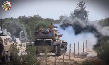 Egypt conducts massive operation against militants in Sinai