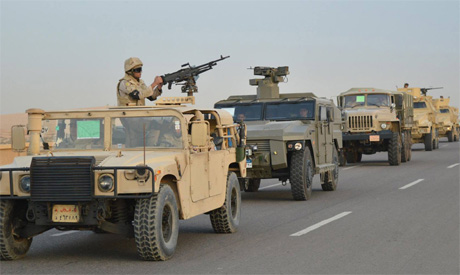Egyptian Army secures Operation Sinai 2018