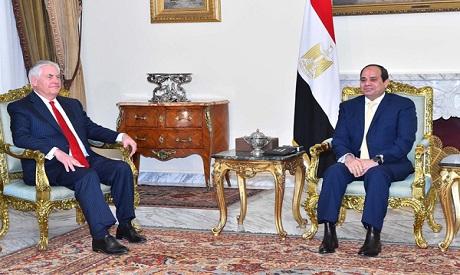 Abdel Fattah al-Sisi, Rex Tillerson