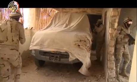 Sinai 2018 raid