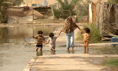 Iraqi residents