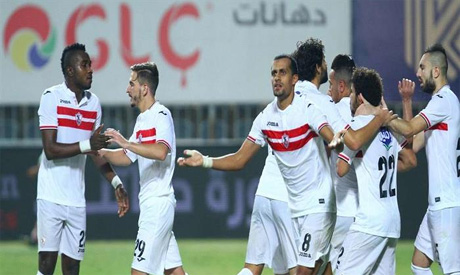 Zamalek	players (Al-Ahram)