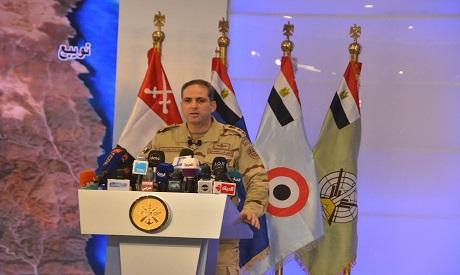 Egypt army spox