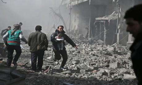 Hamouria town, Syria