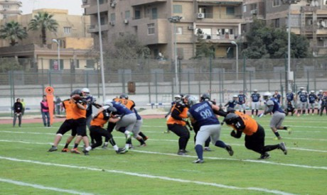 Egypt's American football players