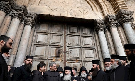 Yerushalayim Church Shuts Down to Protest Tax