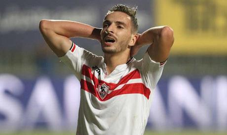 Zamalek Syrian defender Ajan (Al-Ahram)