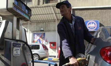 Cairo petrol station