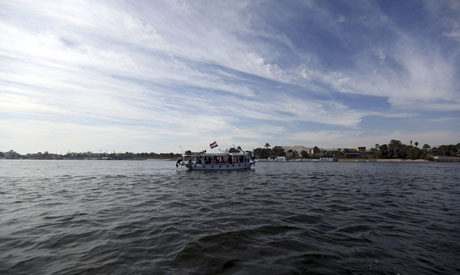 File photo: A boat cruises along the river Nile (Reuters)