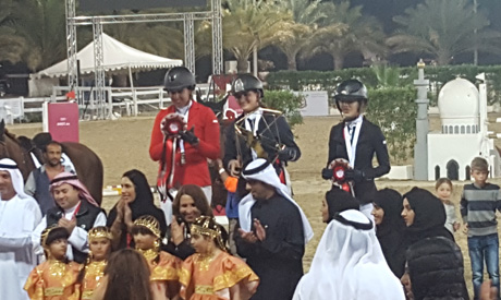 Gold Medals in Show-jumping