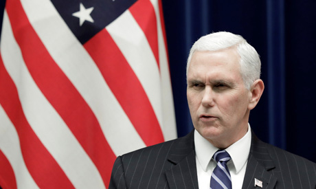 U.S. Vice President Mike Pence (Reuters)