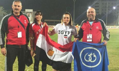 Egypt celebrates medals at AWST