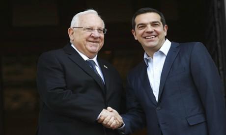 Alexis Tsipras, Reuven Rivlin
