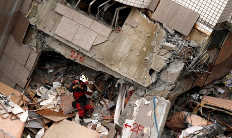 Hopes fade of finding more survivors in Taiwan