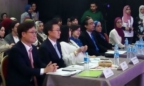 Jury members at the competition