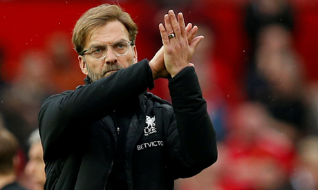 Klopp happy to park bus at United for ticket to second place