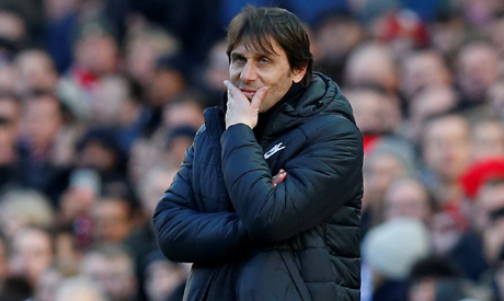 Conte calls for 'great resilience' against Barcelona - after narrow win over Palace