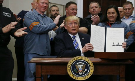 Steel Tariff proclamation