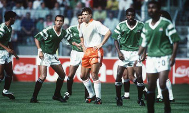 Image result for egypt vs netherlands 1990