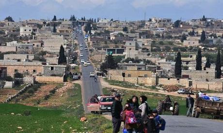 Kurds Fleeing Afrin