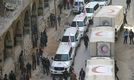 Syrian Red Crescent convoy