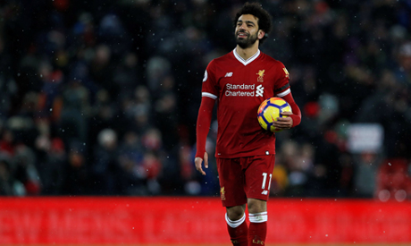 Sensational Salah scores four as Liverpool run riot