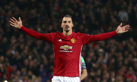 Manchester United's Mourinho thinks it's Ibrahimovic's last season with club