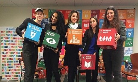 Young people have the potential to be effective agents of change (Photo: UN Chronicle)