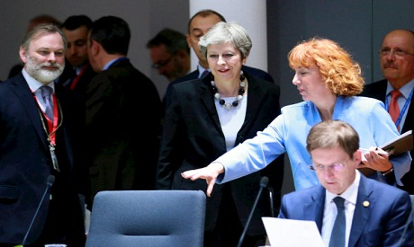 Theresa May EU Summit