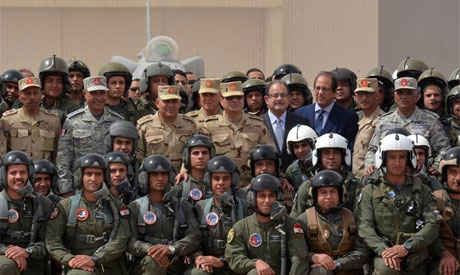 Egypt's Sisi visits Sinai ahead of poll, says militants nearly defeated