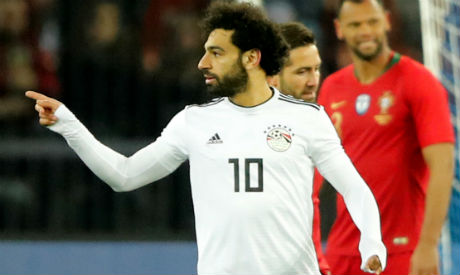 sale retailer 56367 a4b78 Salah goal spoiled by Ronaldo double as Portugal earn 2-1 ...