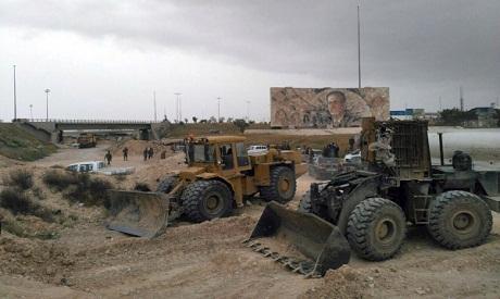 Syrian Bulldozers