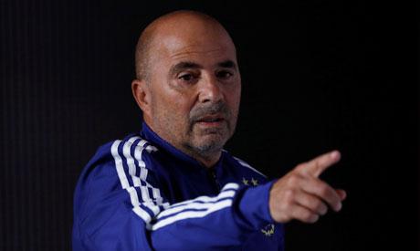Argentina coach Jorge Sampaoli (Reuters)