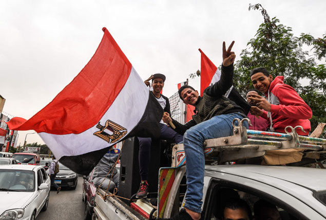 PHOTO GALLERY:  Egyptians go to the polls on final day of 2018 presidential elections