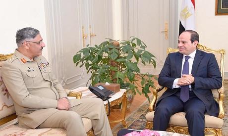 Sisi and Mahmoud Hayat