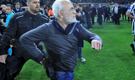 Club Owner Who Invaded Pitch With Gun Banned
