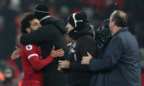 Liverpool 2 Newcastle United 0: Salah scores again to send Reds second