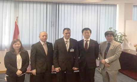 Japanese ambassador to Egypt Takehiro Kagawa