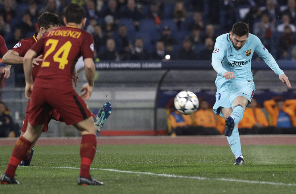 match roma barcelone