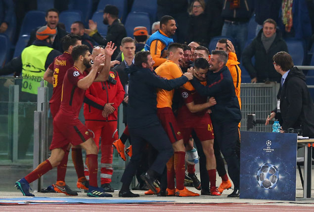 PHOTO GALLERY: Roma stage stunning comeback to dump Barcelona out of Champions League