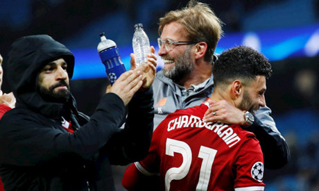 Klopp hails his Red warriors following Champions League win