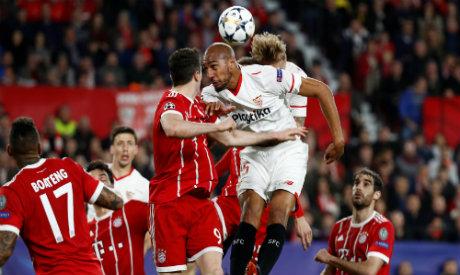 Bayern Munich v Sevilla (Reuters)