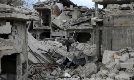 Douma, eastern Ghouta